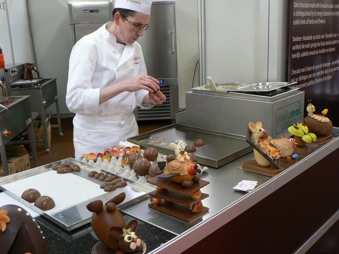 métier chocolatier